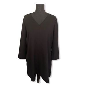 New GAP Black Swing Dress Size Medium